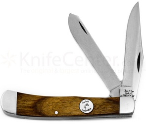 Bear & Son American Made Knife - Walnut Trapper